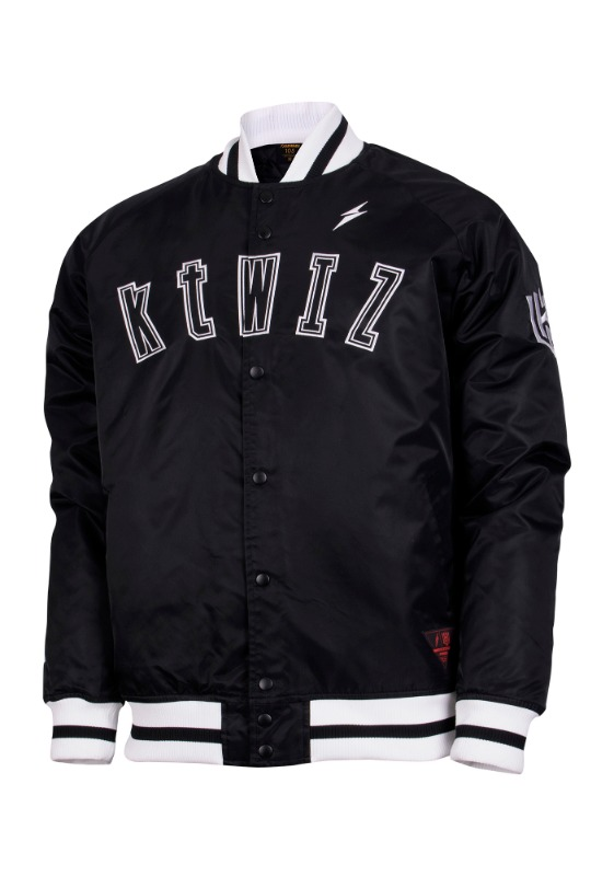 FORWARD kt wiz DUGOUT JACKET (BLACK/WHITE)