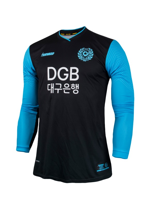 DAEGU FC L/S GK AWAY KIT FOR K-LEAGUE 'FORCOOL' (AUTHENTIC)