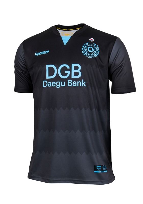 DAEGU FC GK AWAY KIT FOR ACL (PREMIUM - 전사형) / 마킹 후부착